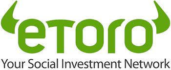 logo del broker eToro