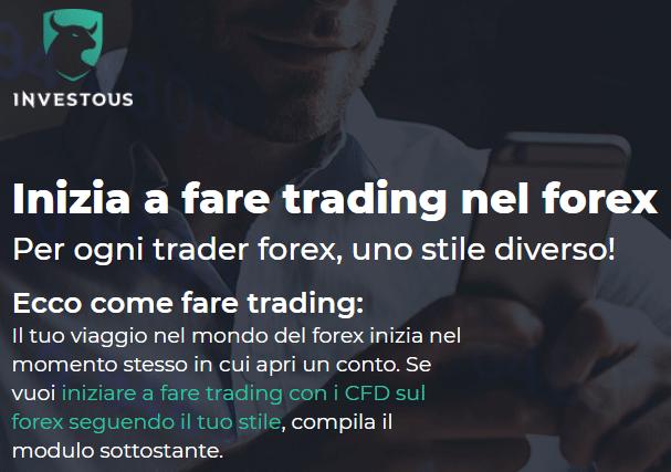 fare forex trading su investoud