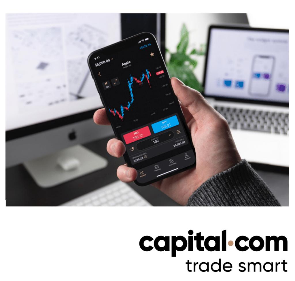 Piattaforma mobile Capital.com