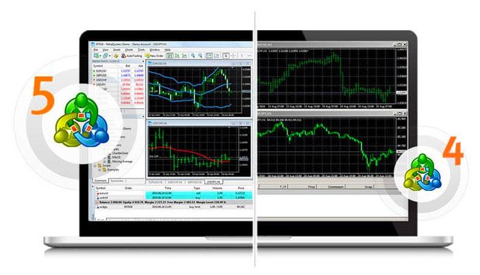 MetaTrader 4 e 5, piattaforme di trading per PC